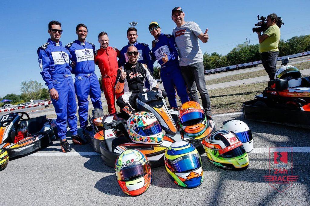 Отборът на Вагонен завод – Интерком RT завърши в Топ 5 на първото 24 часово състезание по картинг в България
